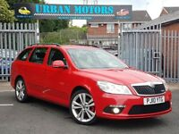 10 REG SKODA OCTAVIA 2.0 TDI CR VRS MINT CAR LOW MILES PX-WELCOME