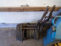 Hesford minor winch off a Field Marshall (suit Fordson, Allis Chalmers, Oliver, Crawler)