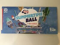 2 SEATING TICKETS SUMMERTIME BALL CAPITAL FM