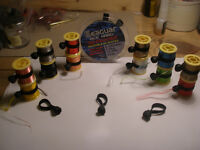 Fishing/fly tying Spool Retainers.