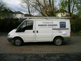Ford Transit Window Cleaners Pure water system Van
