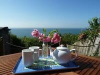 Holiday Cottage, Isle of Wight Cottage, sea views, avail 15th July for 7 nights, sleeps 4