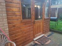 Double glazed timber conservatory