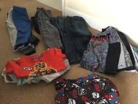 Boys clothing bundle - age 6 - 7 years