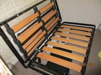 Sofa Bed Frame. Opens to make bed approx 6' X 4'