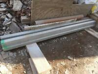 Concrete floor block and beam lintels 2.4m