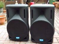 db Technologies 415 opera active speakers ( pair )