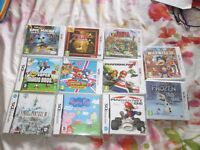 3DS & DS GAMES SOLD SEPARATELY £5 TO £18 EACH