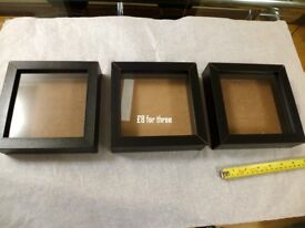 3 x Ikea Picture Frames / Craft Frames