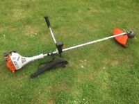 Stihl FS55 Cowhorn Handle Petrol Strimmer / Brushcutter