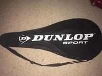 Dunlop tennis racquet & bag