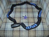 Oxford GP chain lock- heavy duty bike chain