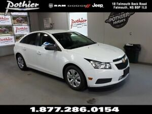 2012 Chevrolet Cruze LS | 6 SPEED MANUAL | TINTED GLASS | KEYLES