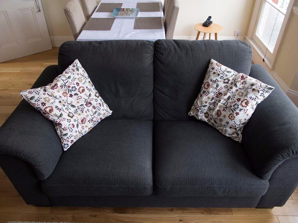 Ikea two-seat sofa