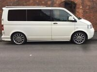 VW T5 professional conversion to 2 berth camper. SWB 1.9tdi
