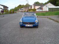 MG MIDGET 1275 HISTORIC RALLY CAR