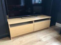 TV Unit Bench IKEA Oak