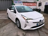 2017 TOYOTA PRIUS HYBRID ACTIVE AUTOMATIC 18900 MILES IDEAL FOR TAXI UBER PCO FINANCE £357 PER MONTH
