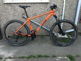 2017 Orange clockwork 120 hardtail men's mountain bike large frame