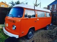 VW CAMPER 4 Berth, lovely Westfalia camper