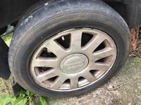 "Audi genuine set of 4 alloys/Alloy wheels 16"" 5x112"