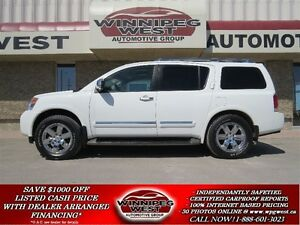 2011 Nissan Armada PLATINUM EDITION 4X4, LOADED,FLAWLESS LOCAL T