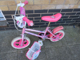 girl child bike