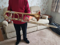 Bass Trombone, Edwards out of Getzen, Double Independent Valves