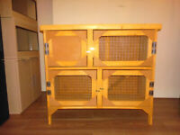 brand new 3ft 2 tier rabbit/ guinea pig hutch in harvest gold