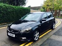 2010 KIA CEED DIESEL CAR FOR DRIVING INSTRUCTOR. DUAL CONTROLS FITTED.