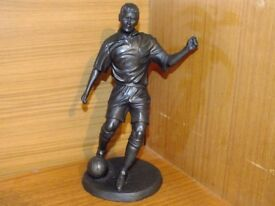 Bronze Footballer Figurine Genesis Fine Arts Ireland