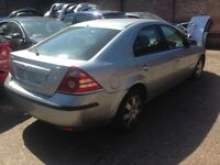 Breaking for parts silver colour 2007 Ford Mondeo 2.0 TDCi Diesel 6-speed