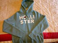 Hollister Hoodie (Small - Light Blue)
