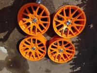 "Zito 18"" alloy wheels orange"