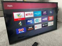 "JVC 40"" smart 4k UltraHD LED Tv wifi Apps Netflix YouTube"