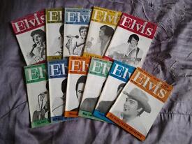 ELVIS PRESLEY MONTHLY MAGAZINES, 20th Year, 1979.