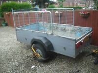 trailer 8 x 4 galvanised