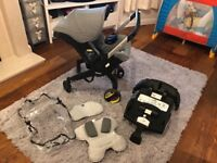 Doona car seat / stroller in 1 & isofix base