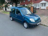 2007 Renault Kangoo 1.6 AUTO / ULEZ EXEMPT / 1YR MOT / WAV / USE AS A CAMPER OR MINI VAN / £3995