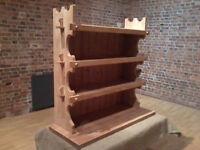 Solid Pine Farmhouse Bookcase - *Free Local Delivery