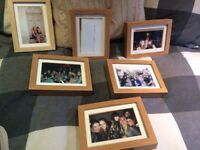 6x IKEA Hovsta picture frames