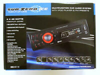Multifunction Car Audio System with iPod Player & FM Presets
