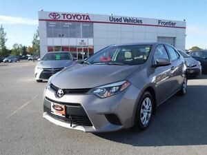 2014 Toyota Corolla LE Eco TOYOTA CERTIFIED PRE-OWNED