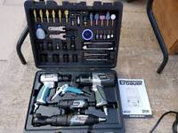 Erbauer ERN655KIT Air Tool Kit 44 Pieces