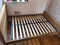1.5 yr old Wooden Bed Frame (Great condition)