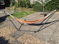 Hammock bed/lounger garden or indoor use