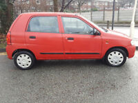 Suzuki Alto 1.1 litre,LOW MILEAGE 46k £30 a year tax