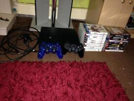 PS3 250gb with 20 games