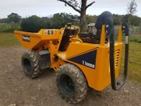 1 tonne Thwaites Skip Dumper - 2014, 500 hours - great condition - £7,750
