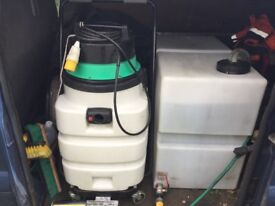 Ford transit diesel Valeting driveway patio decking cleaning business